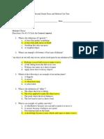 unit test answer key
