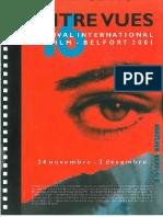 Festival Entrevues - Catalogue 2001