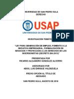 Monografía Decreto 284-2013 Final R.gonzalez 3130001