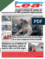 Periódico Lea Martes 06 de Noviembre Del 2018