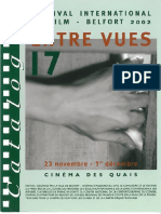 Festival Entrevues - Catalogue 2002