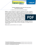 1315 Estudo Da Geometria Diferencial de Curvas Planas Com o Software Geogebra