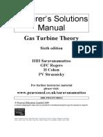 Solucionario Cohen Turbinas a gas