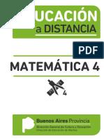 Educación a Distancia Matemática 4