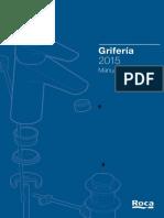 Manual Tecnico Griferia Roca 2015