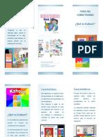 folleto kahoot
