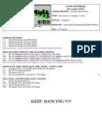 keep dancing - tcld