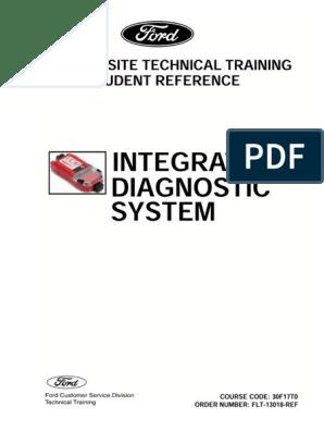 30F17T0 Integrated Diagnostic System FLT-13018-REF (Jan 2008