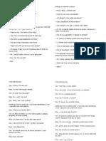 Diálogo en presente continuo++++
