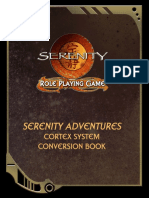 Serenity RPG - Serenity Adventures - Cortex System Corebook Conversion (Colour)