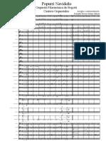 Popurrí Navideño OFB Score
