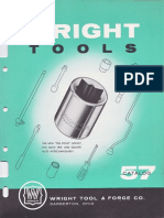 Wright Tools Catalog 57 1956