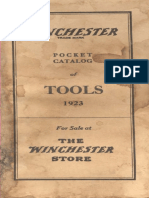 Winchester Pocket Catalog of Tools 1923