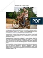 La Historia de La Motocicleta