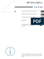 Manual de Usuario MP 501
