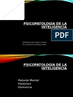 9 Psicopatologã_a de La Inteligencia