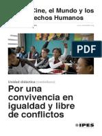 """Unidad Didáctica """"Por una convivencia en igualdad y libre de derechos"""" (castellano)"""