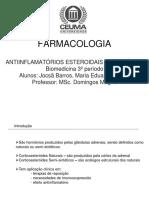 Seminario Antiinflamatorios_Esteroidais