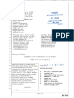Camp Fire Complaint - Filed