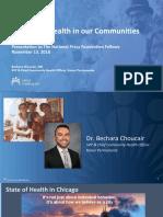 Understanding Community Health