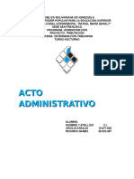 Trabajo Sobre Acto Administrativo