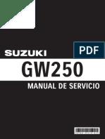 Manual de Servicio GW250