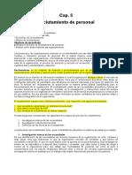 RECLUTAMIENTO- CHIAVENATO