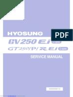 Manaul Service Hyosung Gt 250r Efi