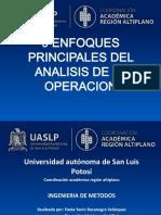 9 Enfoques Principales Del Analisis de La Operacion