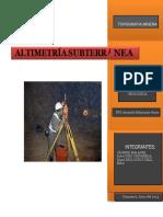Altimetria Subterranea Trabajooo Monografico Converted
