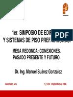 SIMPOSIO DE EDIFICIOS Y SISTEMAS DE PISO PREFABRICADO.