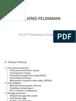 JENIS-JENIS PELAYANAN