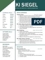 nsiegel resume