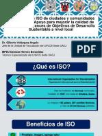 Presentación sobre Normas ISO de Ciudades