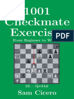 1001 Checkmate Exercises_ From Beginner to Winner - Sam Cicero