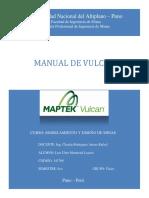 Manual Vulcan