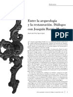 Entre La Arqueológia y La Restauración