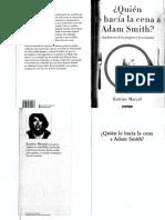 Quien- le- hacia- la- cena- a adam- smith-PDF- K. Marcal