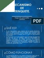 MECANISMO DE TRINQUETE.pptx