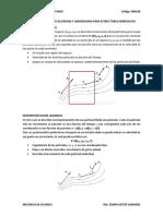 Descripción de Flujos Euliriana y Langragiana Para Estructuras Hidráulicas