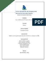 Matriz Con Los Personajes Del Teatro Floklórico