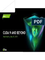 Cuda 9 and Beyond