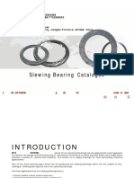 WCB Excavator Spare Parts Slewing Bearing Slewing Circle Slewing Ring