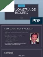 Análisis de Ricketts