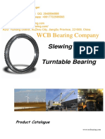 WCB Factory Supply Crossed Roller Bearing