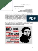 Filosofía a Distancia de Antonio Gramsci
