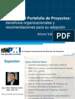 Arturo Valencia - Gestión del Portafolio de Proyectos beneficios organizacionales.pptx
