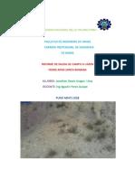Informe de Geologia de Minas