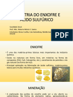Indústria Do Enxofre e Ácido Sulfúrico