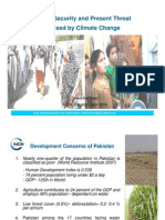 Climate Change- Food Security and Pakistan- Saadullah Ayaz